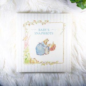 Vintage Peter Rabbit 1993 Baby Snapshot